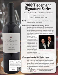 Tiedemann Signature Series Tasting Notes