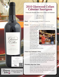 Glenwood Cellars Cabernet
