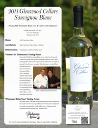 Glenwood Cellars Sauvignon Blanc