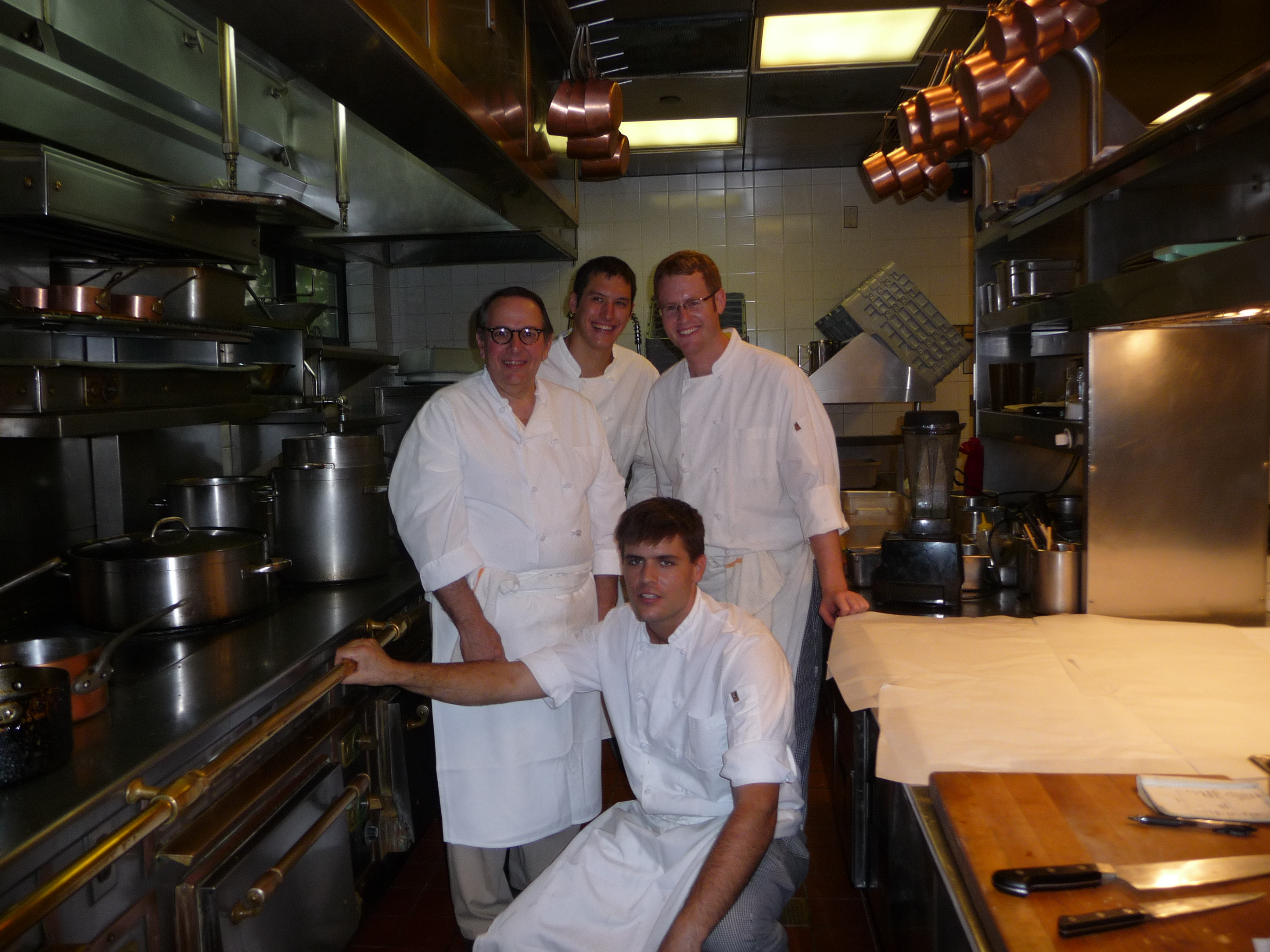 Carl Tiedemann and the Chefs at Charlie Trotter's