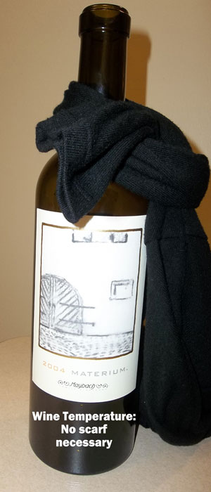 How to serve wine at the correct temperature