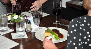 This wine dinner at McCarthy's on the Riverwalk in Elkhart, Indiana, provided a great opportunity to mix great food and great wine.