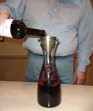 Letting the wine breath through aeration is likely to improve the drink-ability of many red wines.
