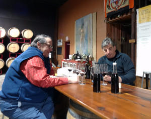 The Glenwood Cellars Blending