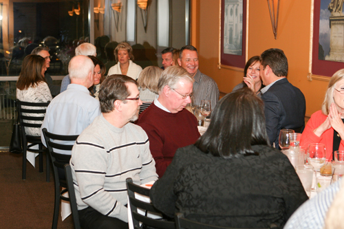 It was a full house at Lucchese's for its Italian wine dinner.
