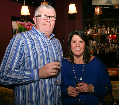 Wine dinner guests, Uptown Kitchen, February 2015
