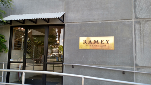 The headquarters for Ramey Wines in Healdsburg.