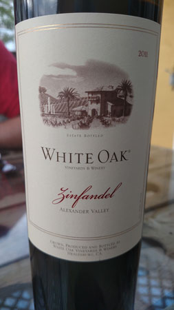 White Oak's Zinfandel