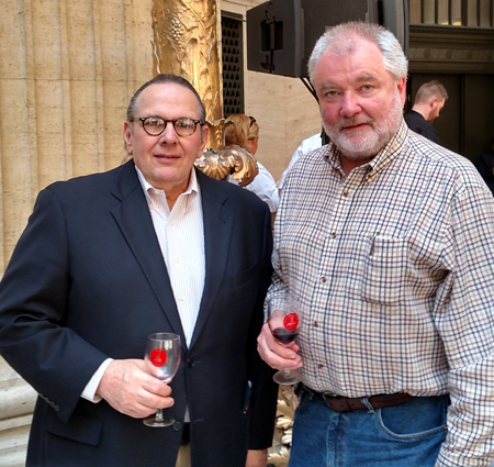 Carl with Tom Welsh at the 2015 Rioja Festival
