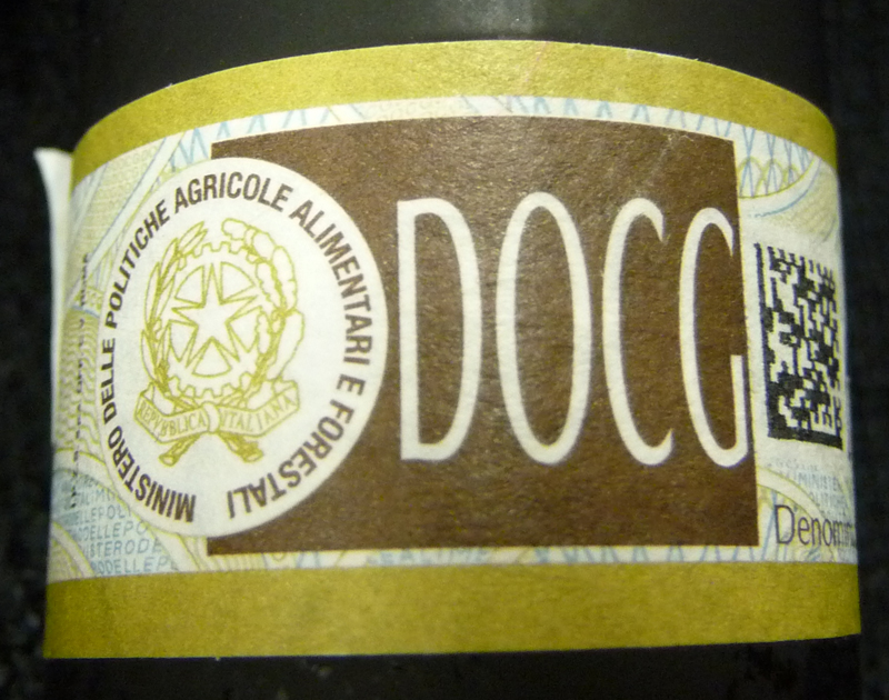 DOCG-label