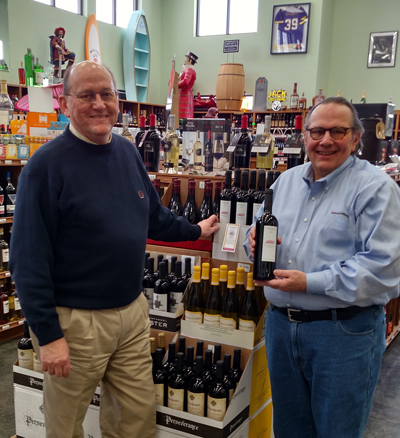Visit Stan Minden at Chalet Party Shoppe on CR 17 in Elkhart for questions on wine.