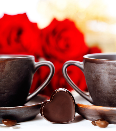 Wine can smell of coffee, chocolate and flowers.