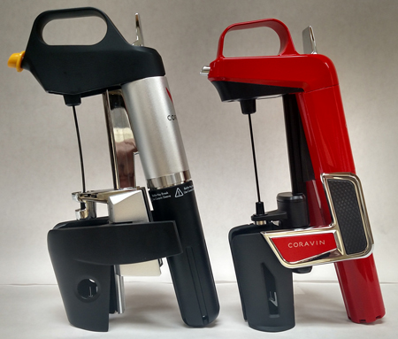 Carl's two Coravin system models.